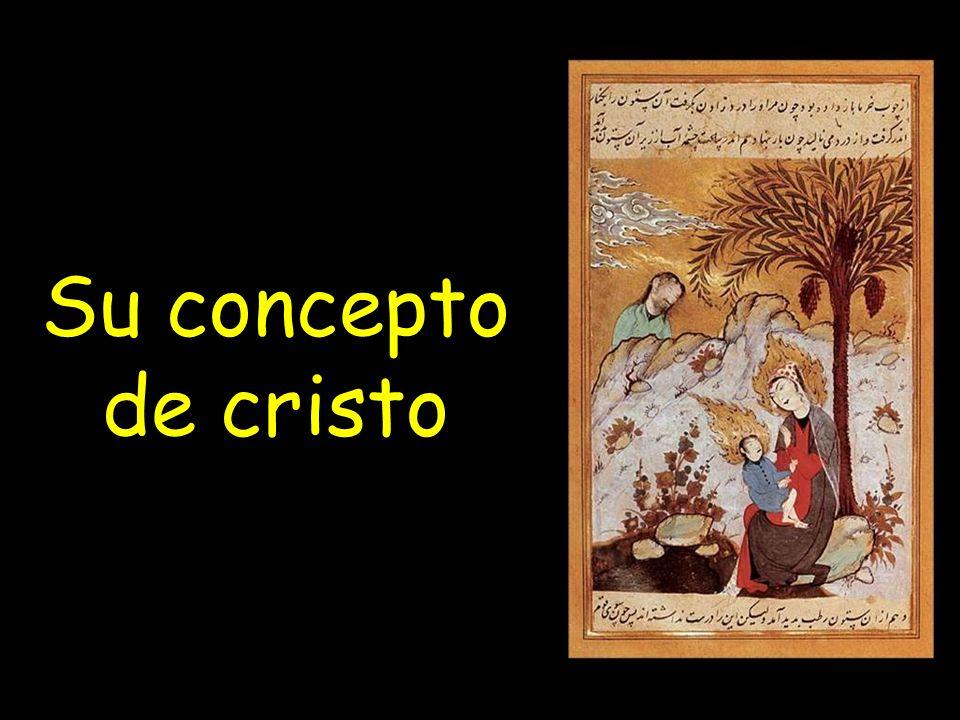 Su concepto de cristo