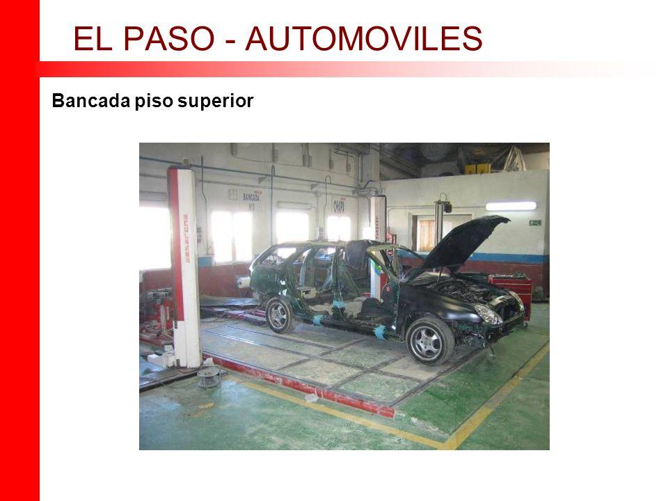 EL PASO - AUTOMOVILES Bancada piso superior