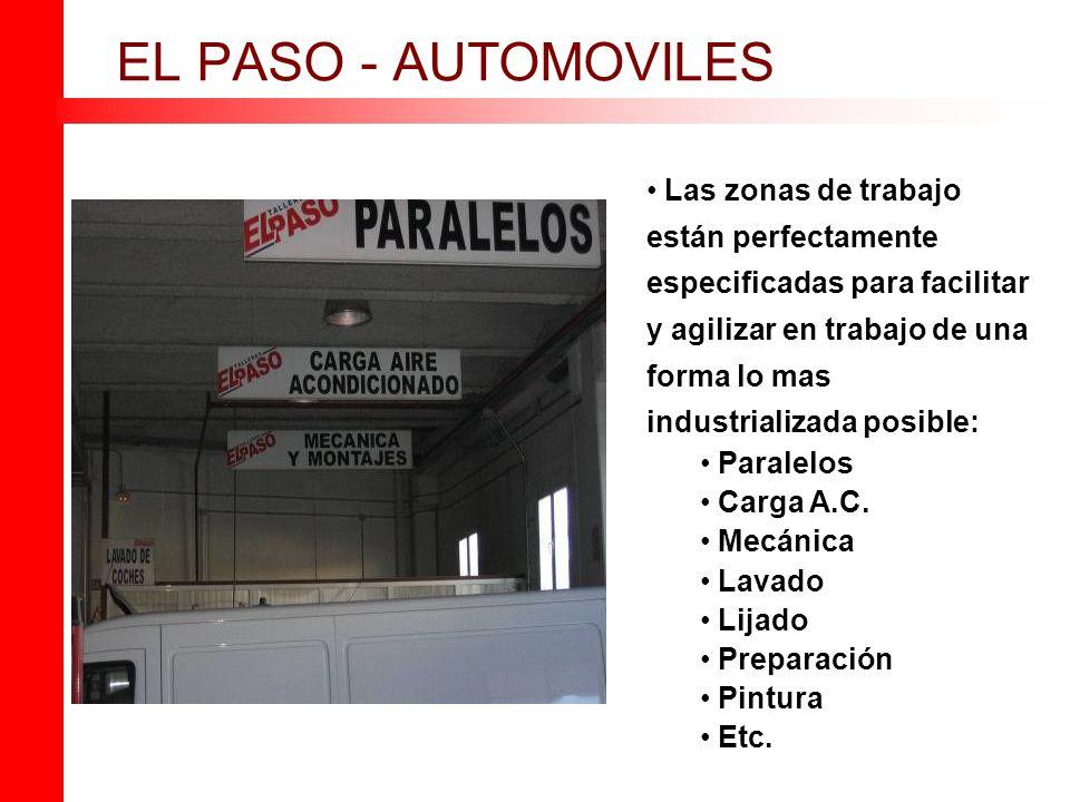EL PASO - AUTOMOVILES