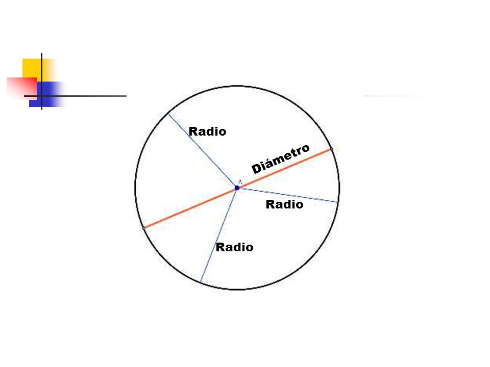 Radio Diámetro Radio Radio