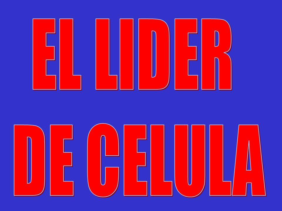 EL LIDER DE CELULA
