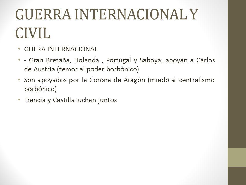 GUERRA INTERNACIONAL Y CIVIL