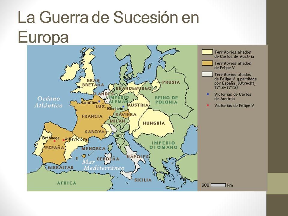 La Guerra de Sucesión en Europa