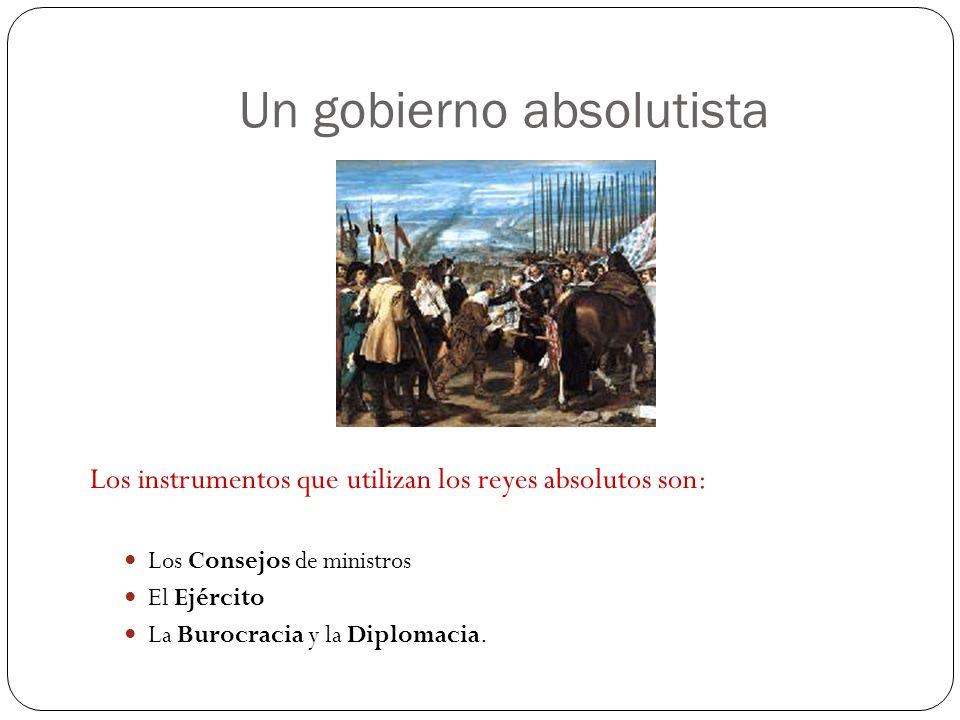 Un gobierno absolutista