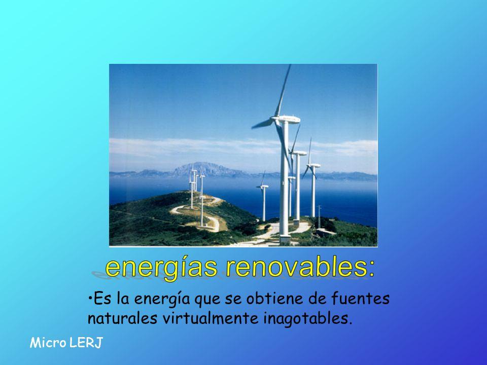 energías renovables: Usar