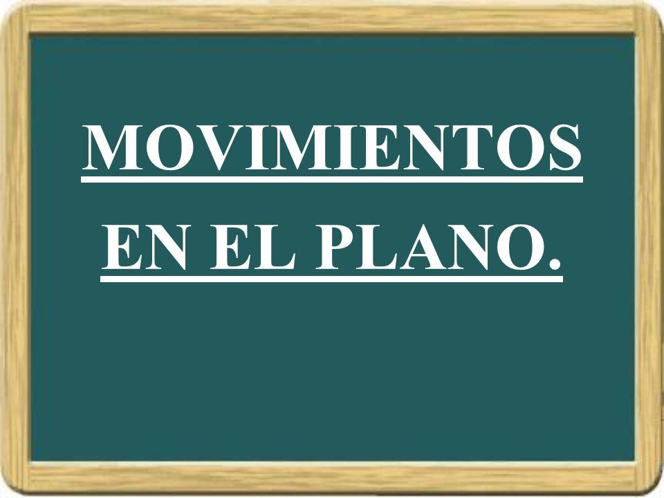 MOVIMIENTOS EN EL PLANO.
