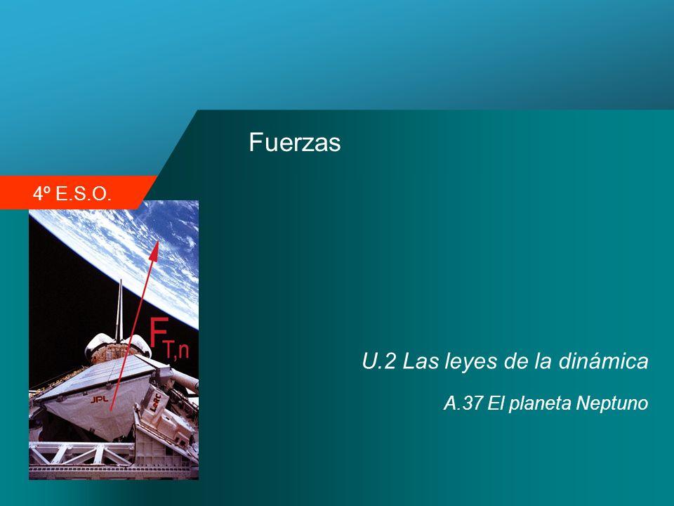 Fuerzas U.2 Las leyes de la dinámica A.37 El planeta Neptuno
