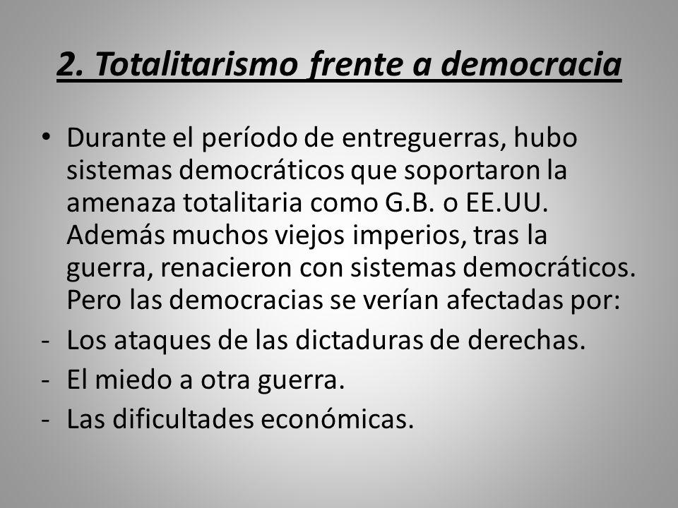 2. Totalitarismo frente a democracia