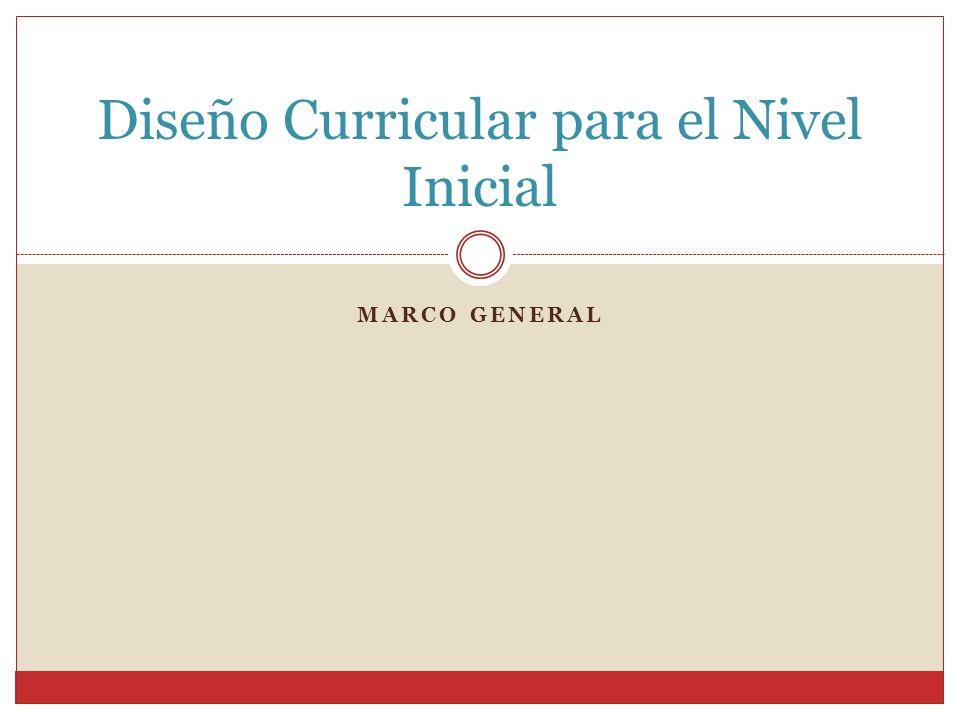 Diseño Curricular para el Nivel Inicial - ppt video online descargar