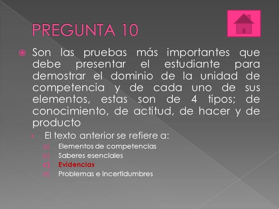 PREGUNTA 10