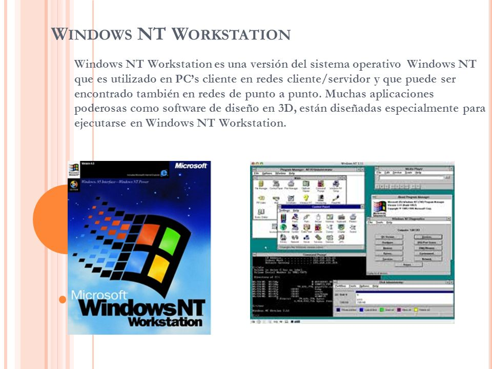 Windows NT Workstation