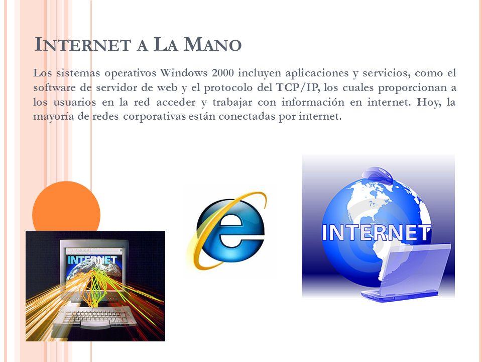 Internet a La Mano