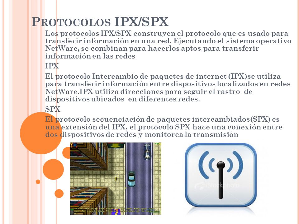 Protocolos IPX/SPX