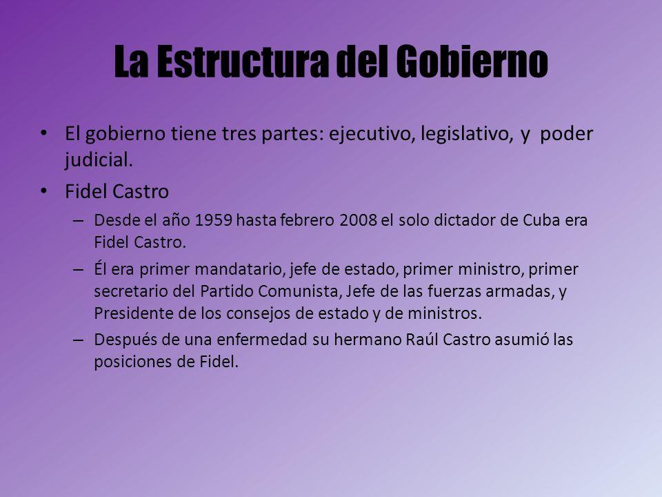 La Estructura del Gobierno