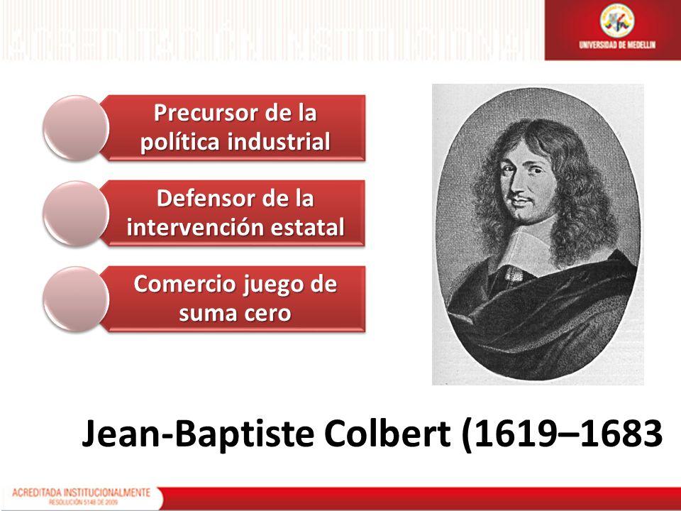 Jean-Baptiste Colbert (1619–1683