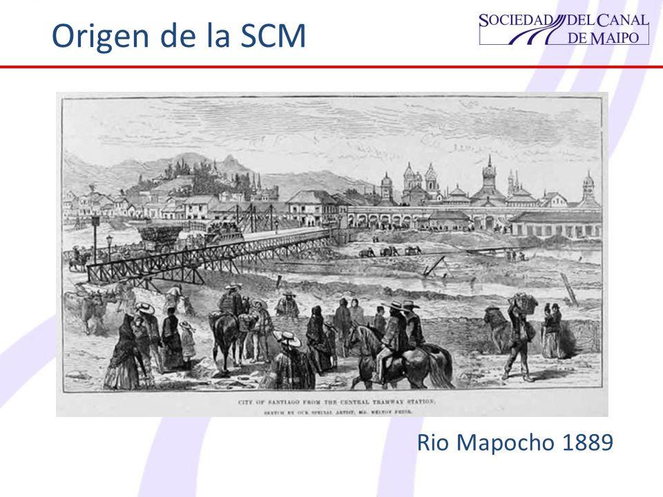 Origen de la SCM Rio Mapocho 1889