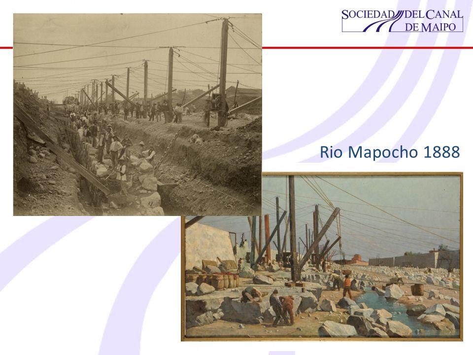 Rio Mapocho 1888