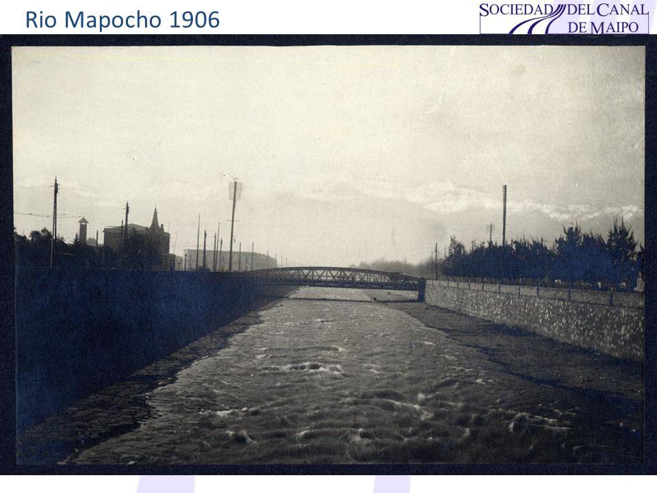 Rio Mapocho 1906