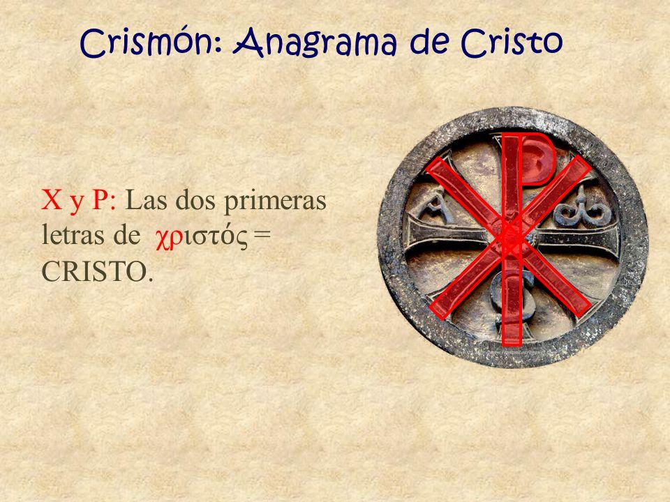 Crismón: Anagrama de Cristo