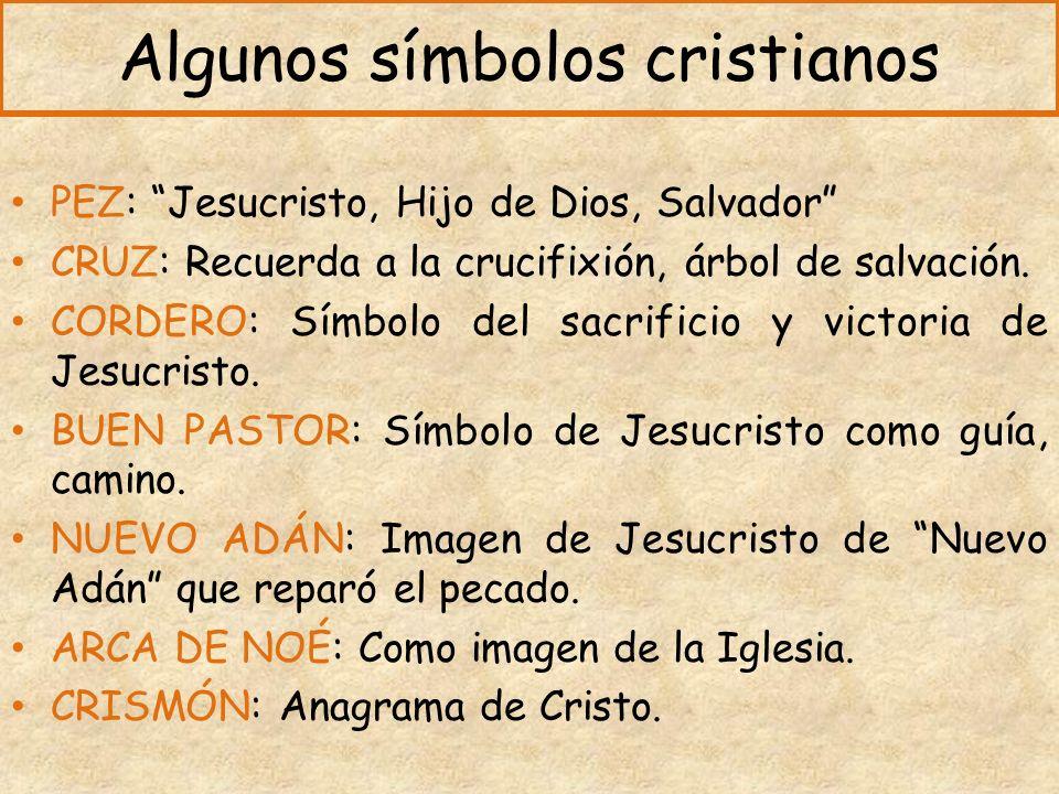 Algunos símbolos cristianos