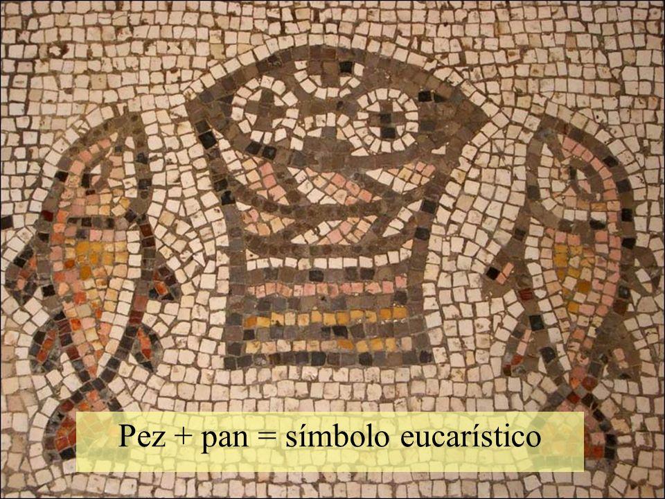 Pez + pan = símbolo eucarístico