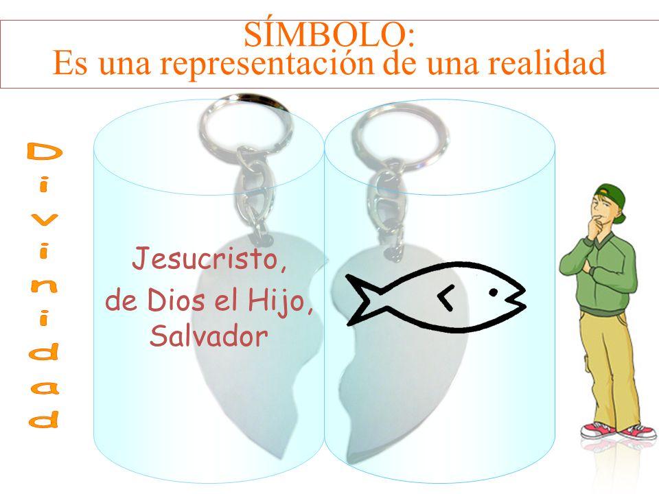 SÍMBOLO: Es una representación de una realidad