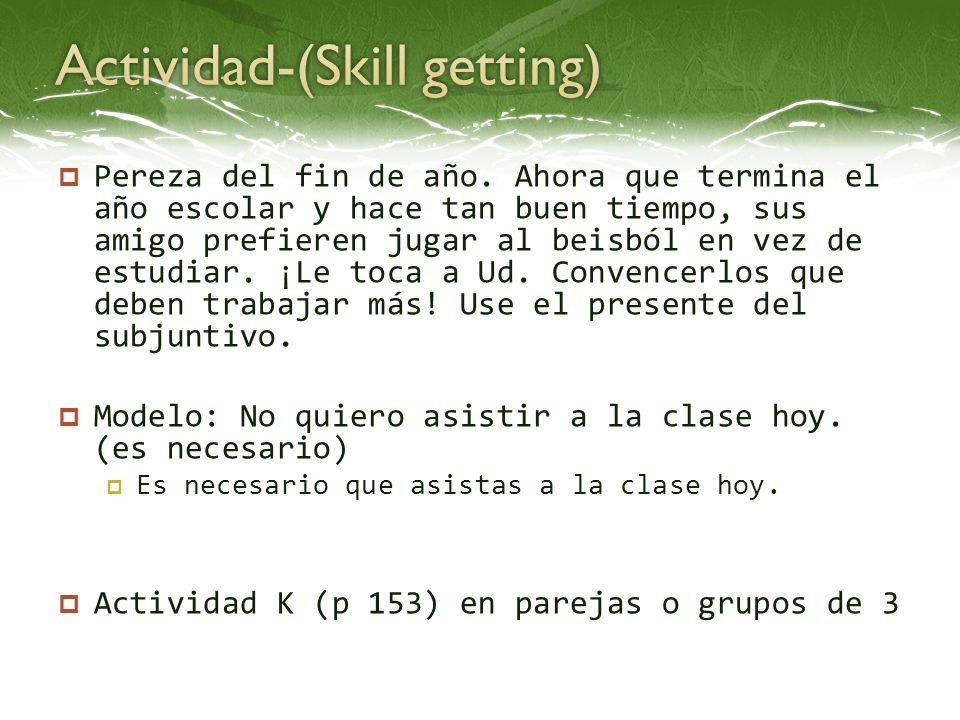Actividad-(Skill getting)
