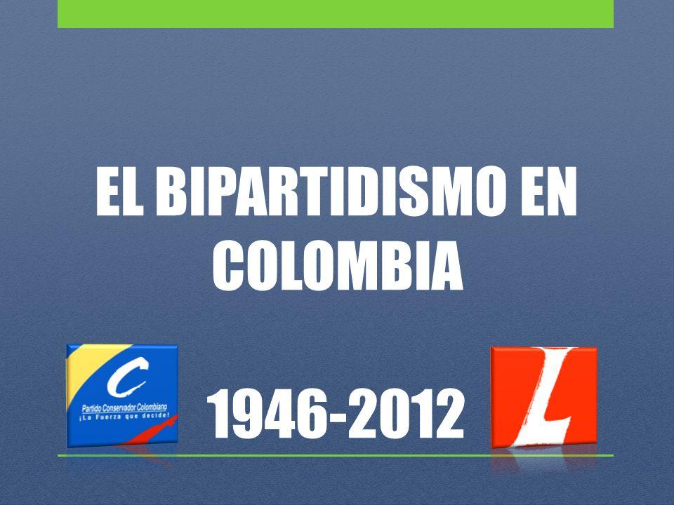 EL BIPARTIDISMO EN COLOMBIA 1946-2012
