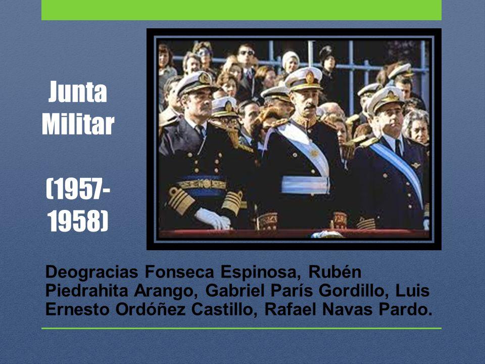 Junta Militar (1957-1958)