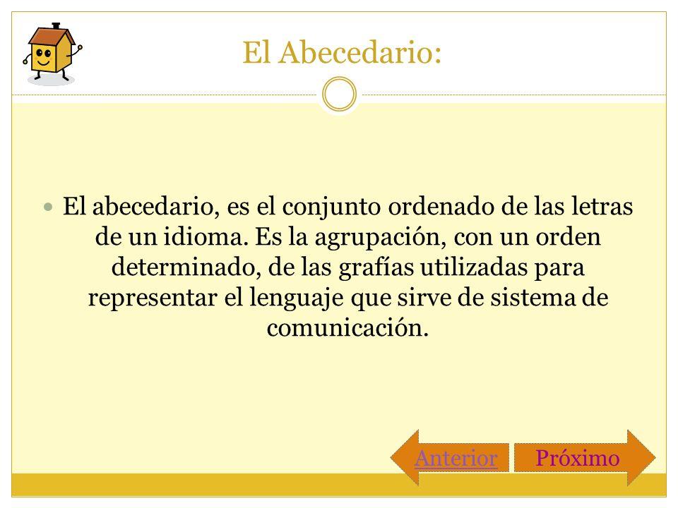 El Abecedario: