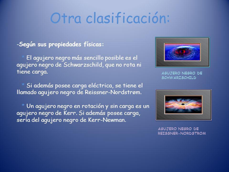 Otra clasificación: -Según sus propiedades físicas: