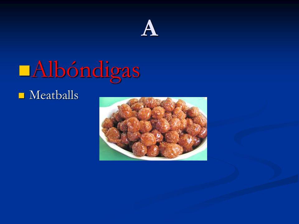 A Albóndigas Meatballs