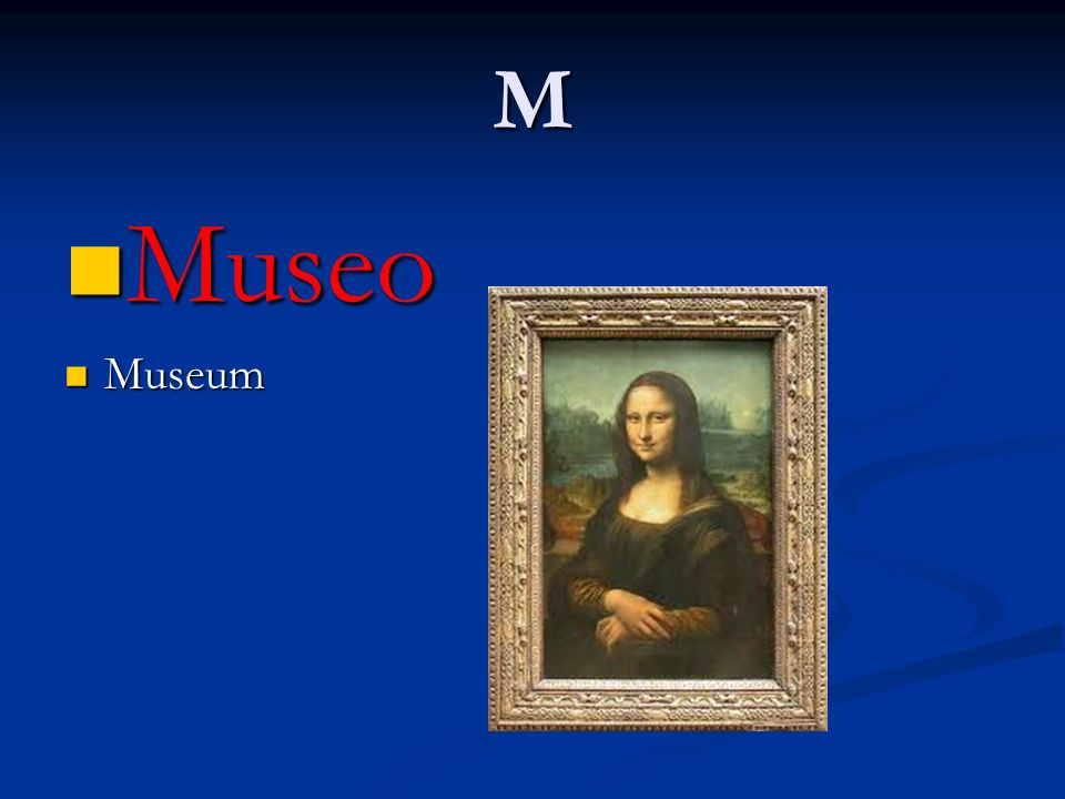 M Museo Museum