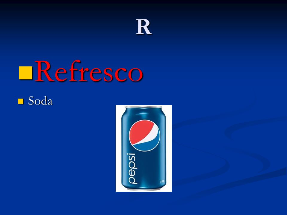 R Refresco Soda