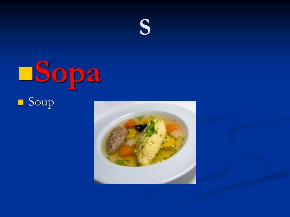 S Sopa Soup