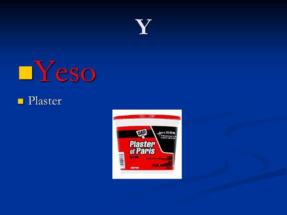Y Yeso Plaster