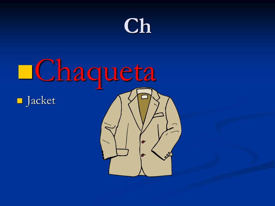 Ch Chaqueta Jacket