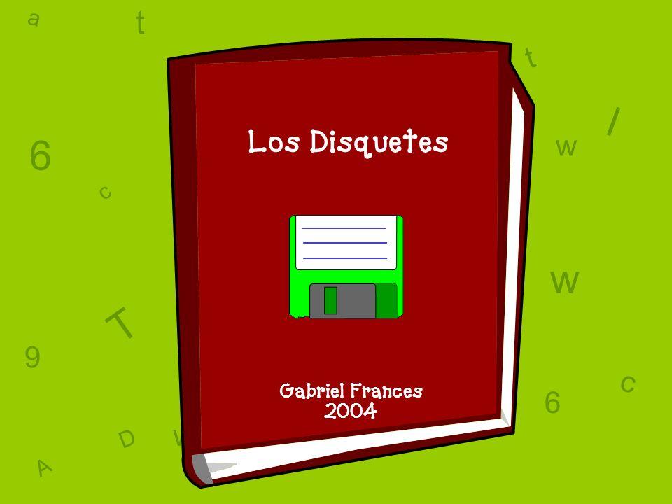 Los cuidados de los disquetes