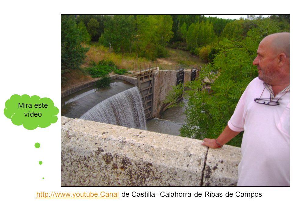 Mira este vídeo http://www.youtube.Canal de Castilla- Calahorra de Ribas de Campos