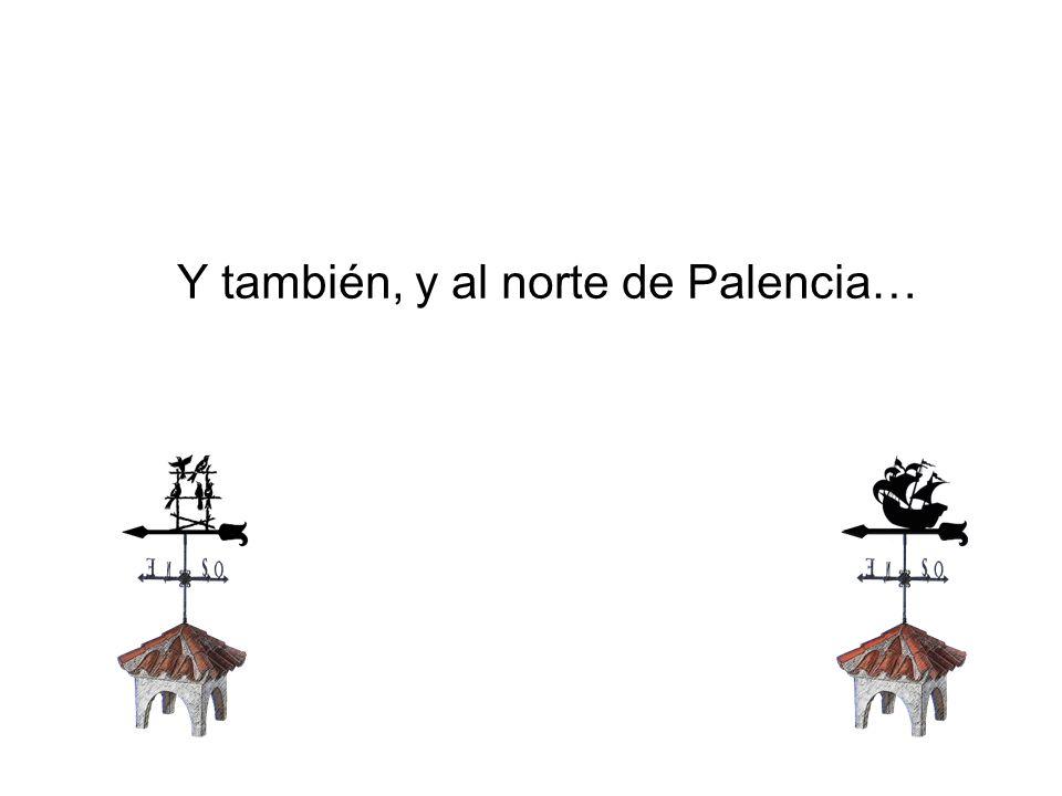 Y también, y al norte de Palencia…