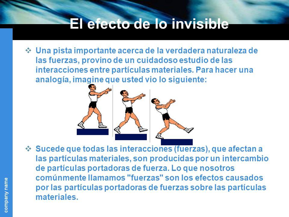 El efecto de lo invisible