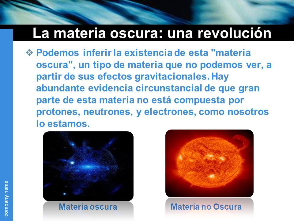 La materia oscura: una revolución