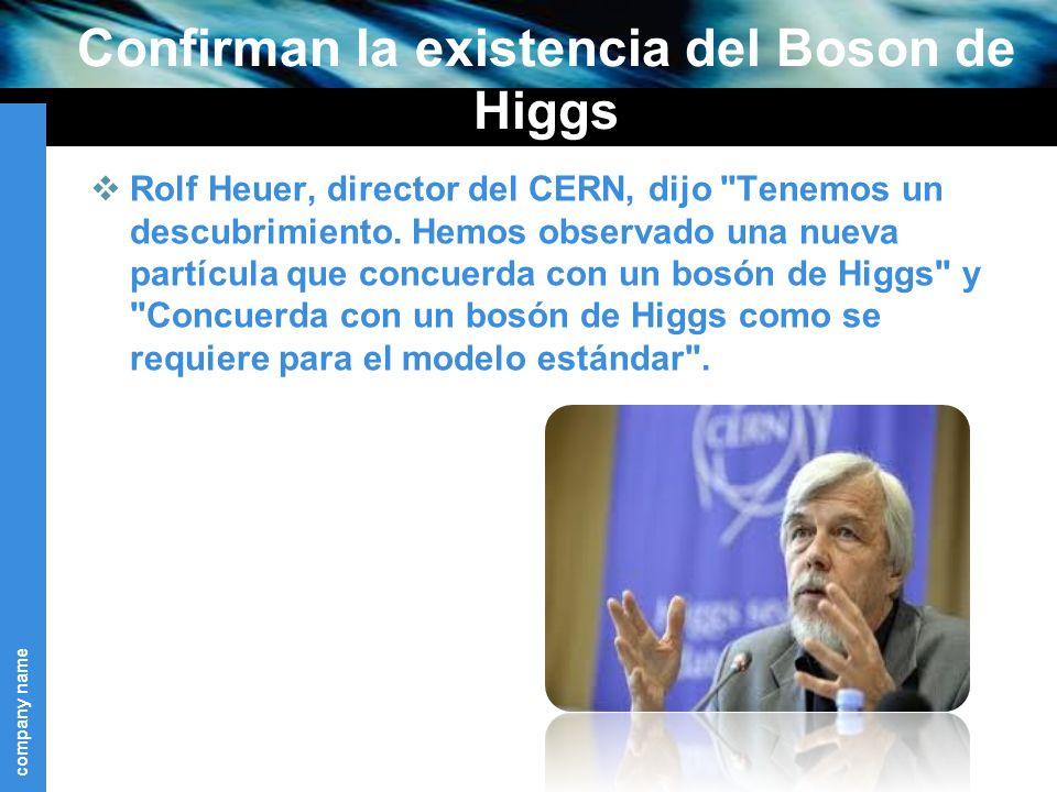 Confirman la existencia del Boson de Higgs