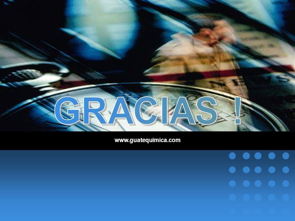 GRACIAS ! www.guatequimica.com