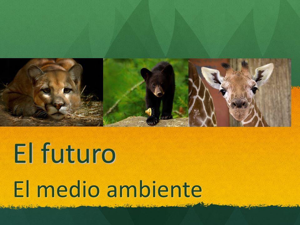 El futuro El medio ambiente