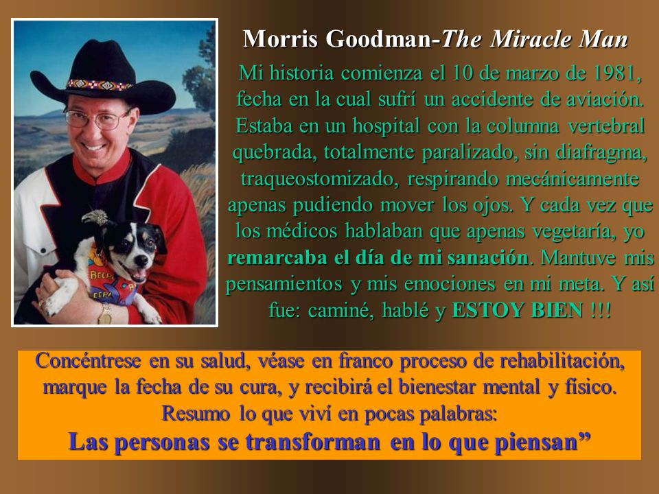 Morris Goodman-The Miracle Man