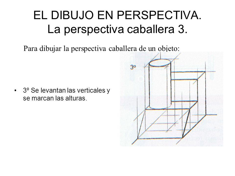 EL DIBUJO EN PERSPECTIVA. La perspectiva caballera 3.