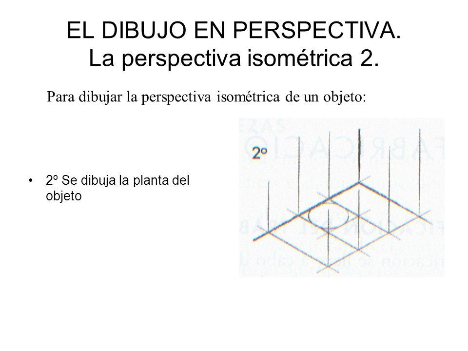 EL DIBUJO EN PERSPECTIVA. La perspectiva isométrica 2.