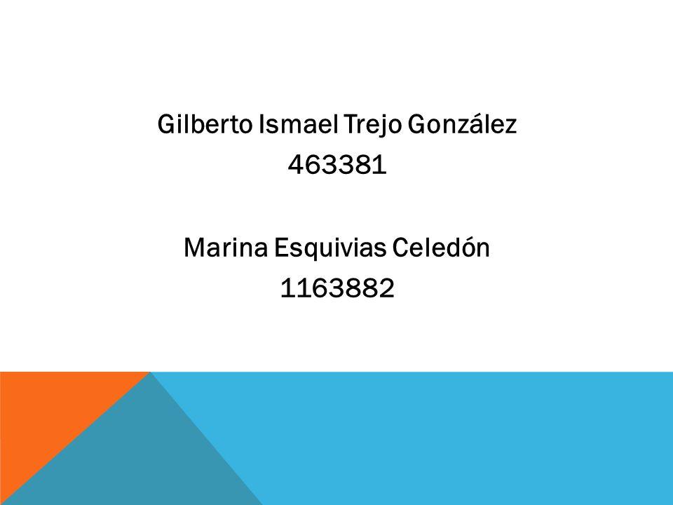 Gilberto Ismael Trejo González 463381 Marina Esquivias Celedón 1163882