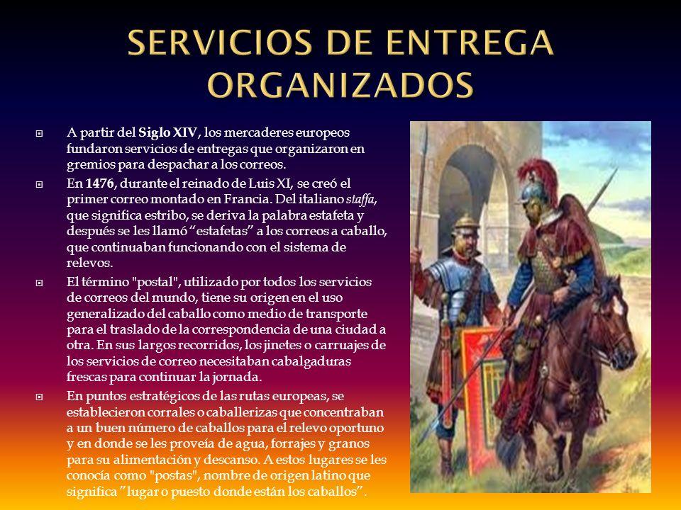 SERVICIOS DE ENTREGA ORGANIZADOS
